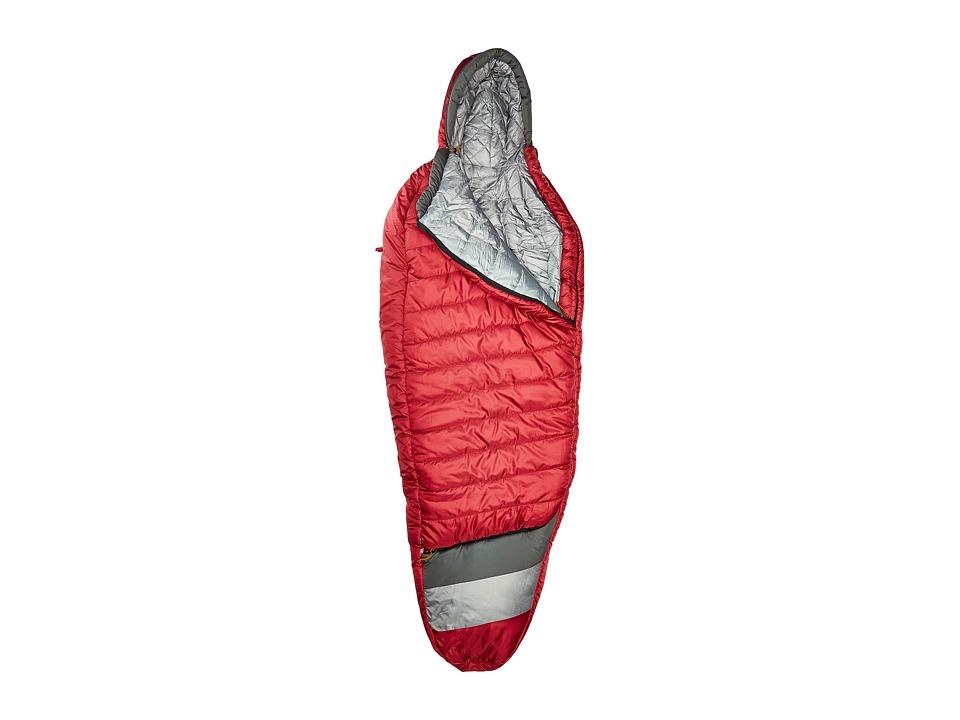 Kelty - Tuck 20 Degree Thermapro Ultra Regular Left Handed Zippers (Garnet Red/Smoke) Outdoor Sports Equipment