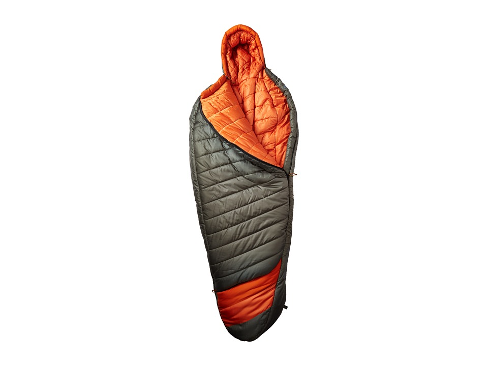 Kelty - Tuck 0 Degree Thermapro Ultra Regular Left Handed Zippers (Dark Shadow/Cinnamon) Outdoor Sports Equipment