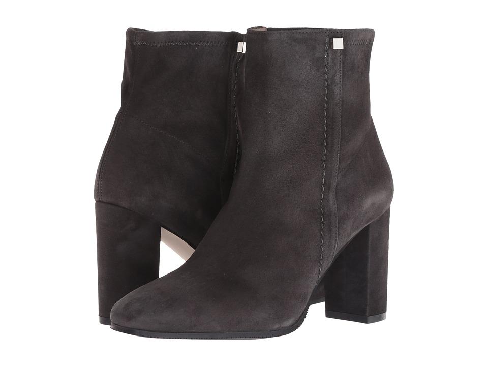 Stuart Weitzman Solo 85 (Asphalt Suede) Women's Shoes