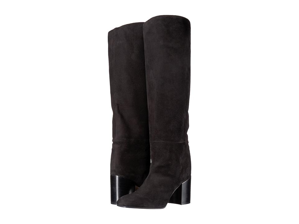 Stuart Weitzman Tubo (Black Suede) Women's Shoes