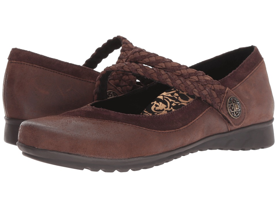Aetrex Essence Ada (Chocolate) Women's Shoes