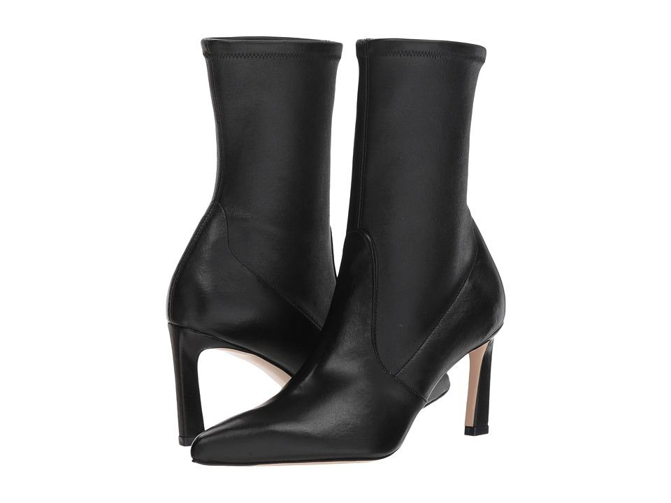 Stuart Weitzman Rapture 75 (Black Lush Nappa) Women's Shoes