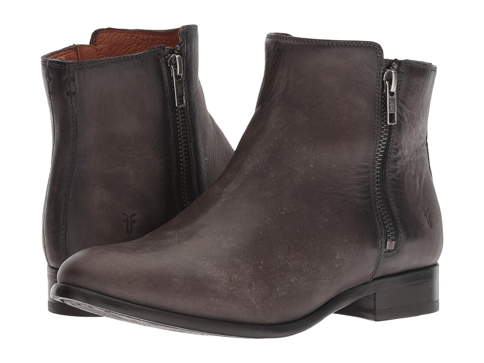 Frye Carly Double Zip (Smoke)