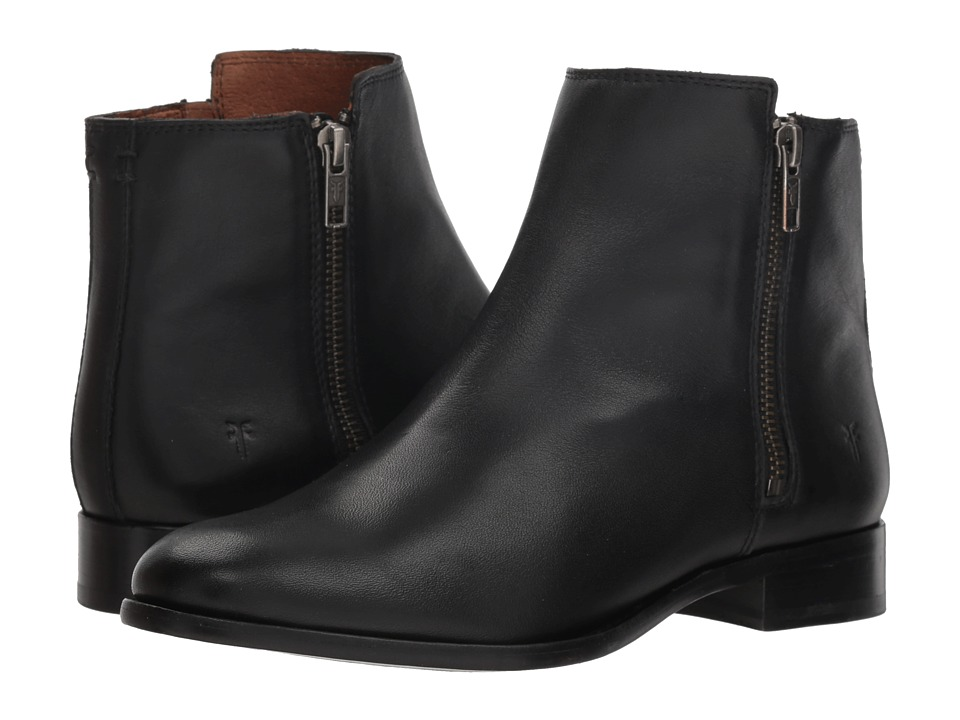 Frye Carly Double Zip (Black)