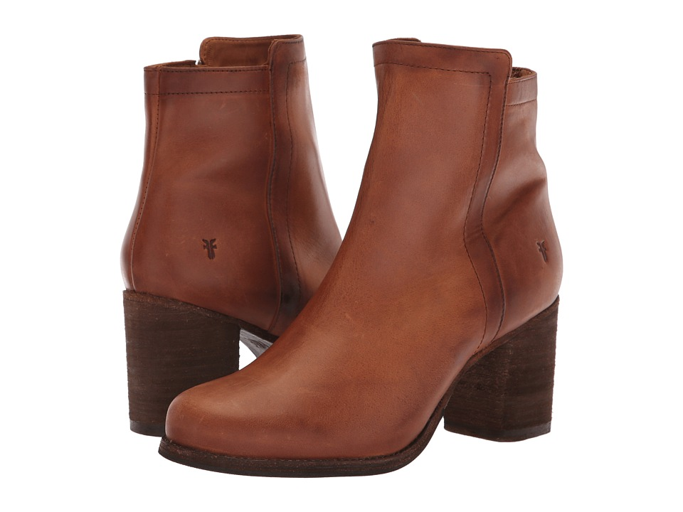 Frye Addie Inside Zip (Cognac)