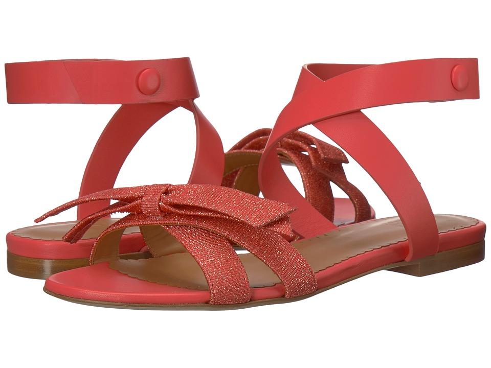M Missoni Lurex Sandal (Coral) Women