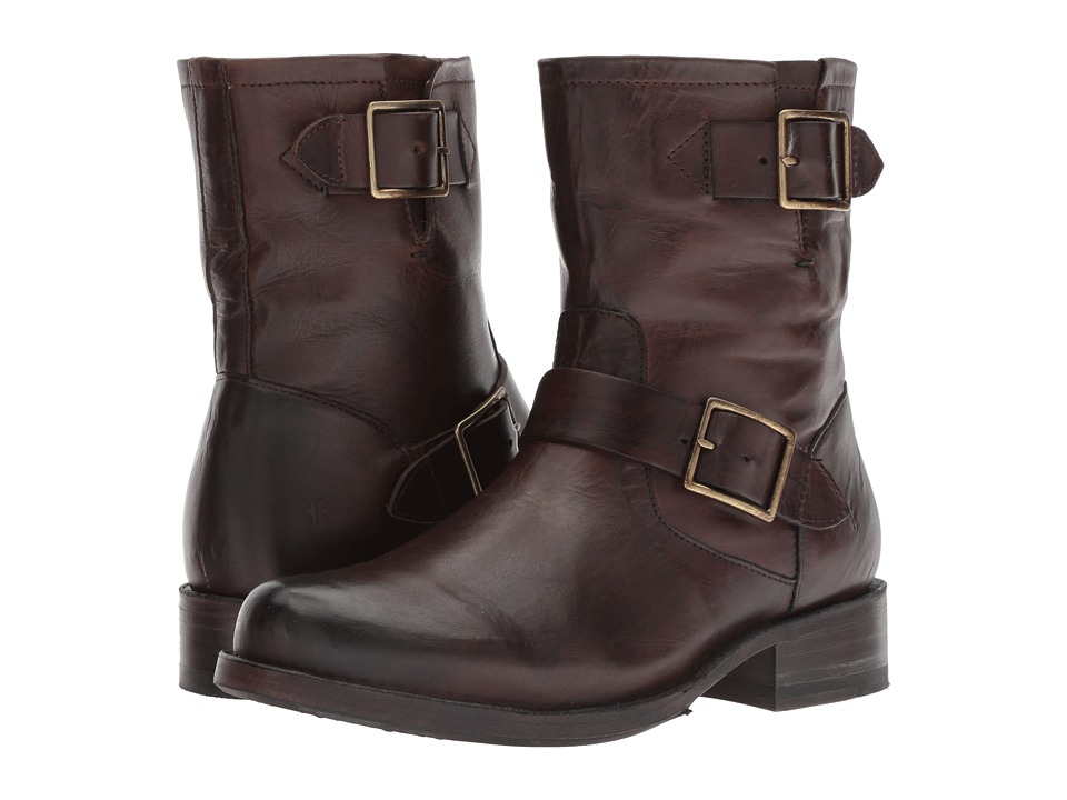 Frye Vicky Engineer (Chocolate)