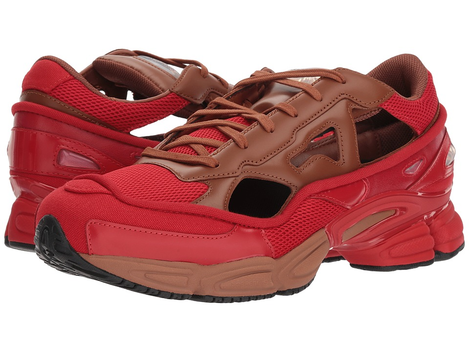 adidas by Raf Simons - Raf Simons Replicant Ozweego (Scarlet/Dust Rust/Scarlet) Mens Shoes