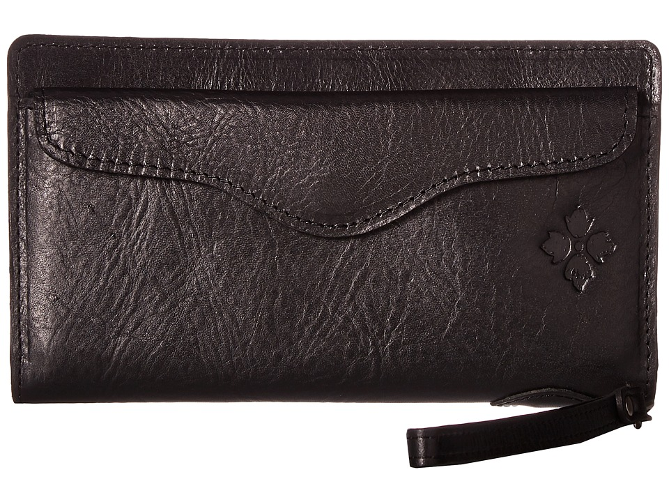 Patricia Nash - Valentia Snap Wristlet (Black) Wristlet Handbags