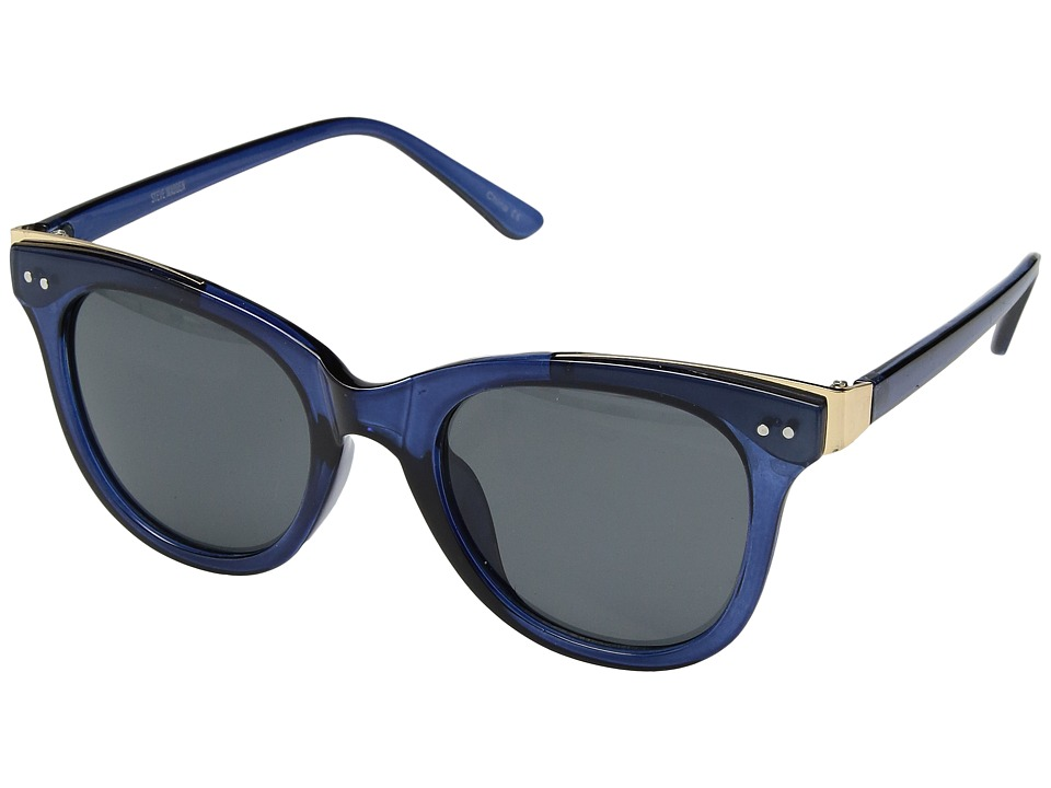 Steve Madden - Whitney (Navy) Fashion Sunglasses