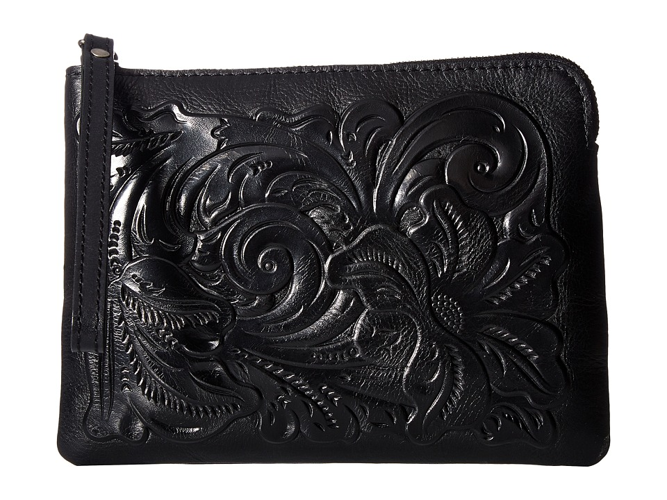 Patricia Nash - Cassini Tooled (Black 1) Wristlet Handbags