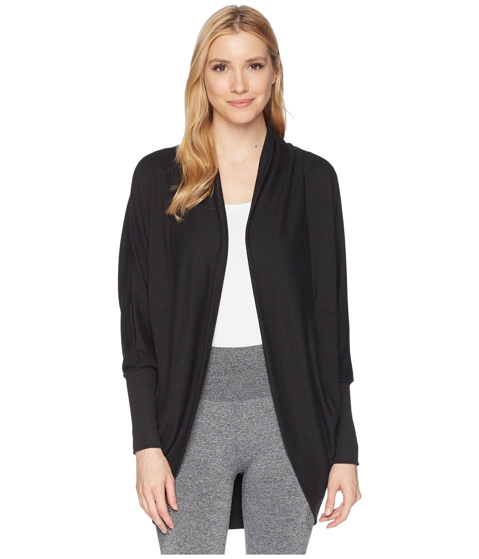 Jockey Active - Cocoon Wrap (Deep Black) Womens Sweater