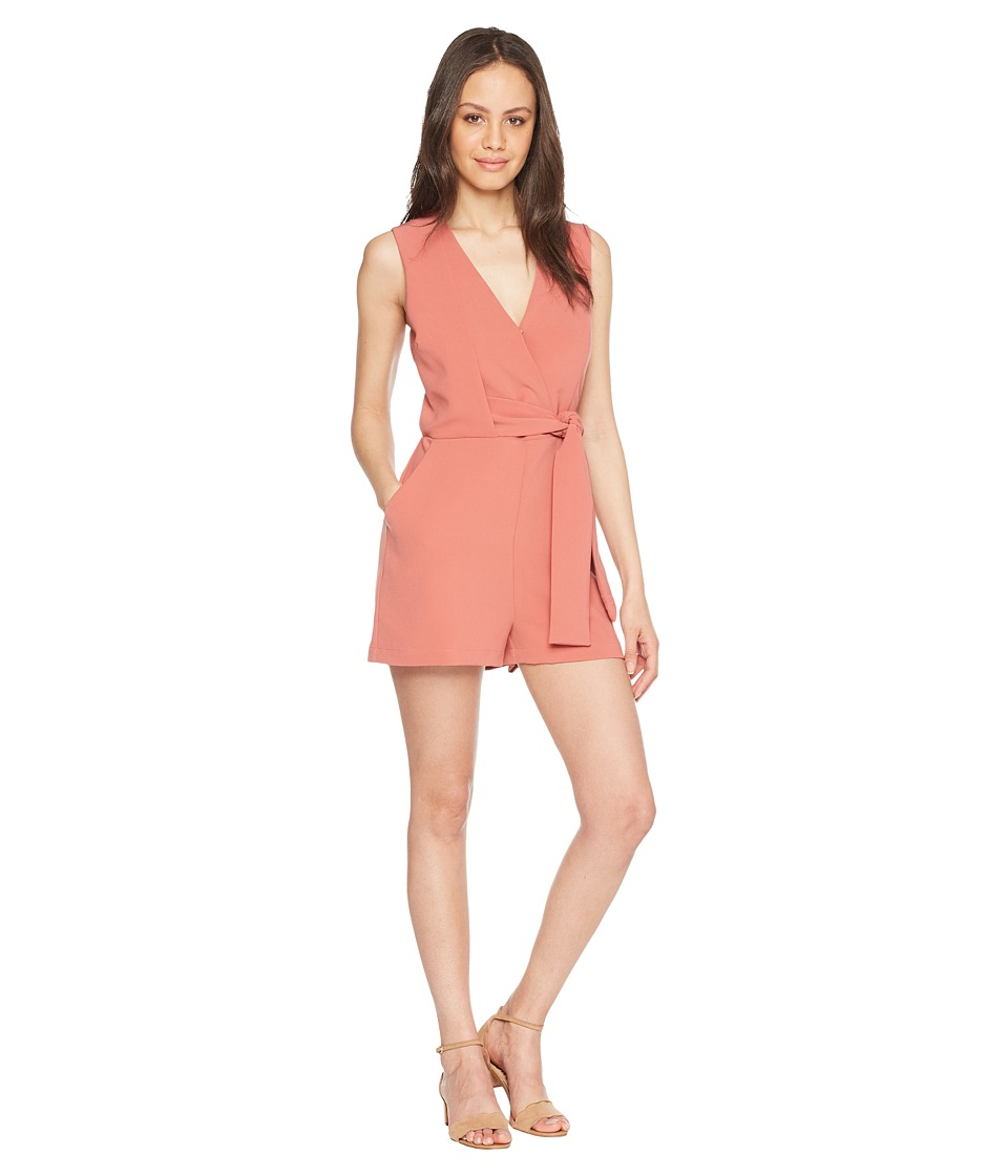Adelyn Rae - Val Romper (Old Rose) Womens Jumpsuit & Rompers One Piece