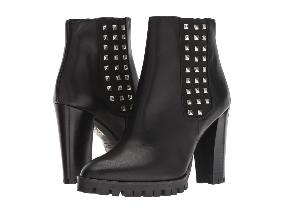 The Kooples Anne Boots with Studs (Black)