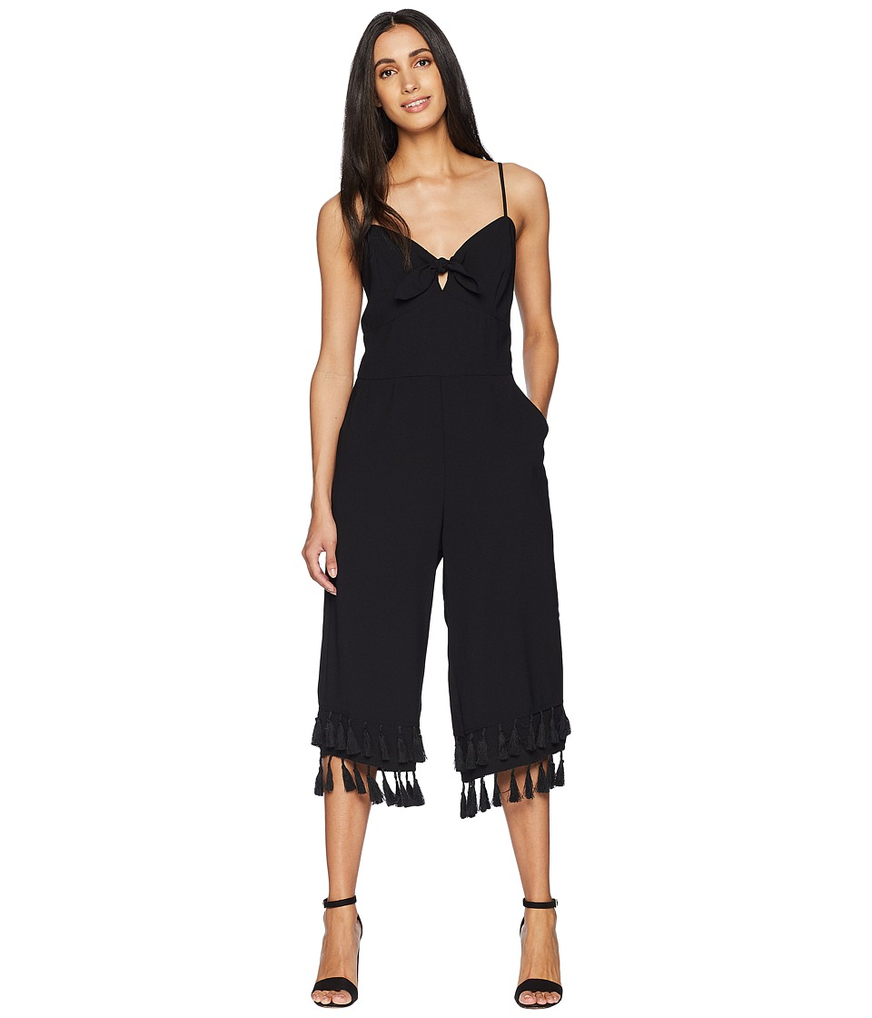 Adelyn Rae - Sandy Culottes (Black) Womens Jumpsuit & Rompers One Piece