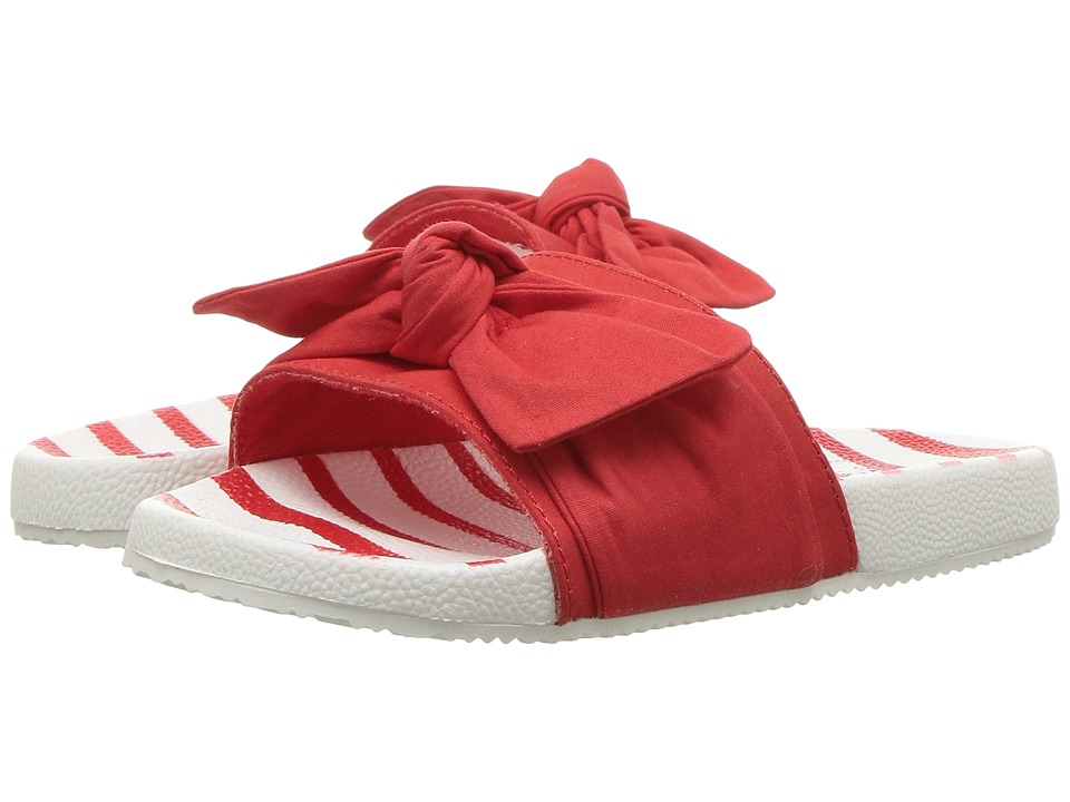Janie and Jack - Knotted Slide (Toddler/Little Kid/Big Kid) (Moto Red) Girls Shoes