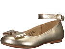 Janie and Jack Metallic Ankle Strap Ballet Flat (Toddler/Little Kid/Big Kid)