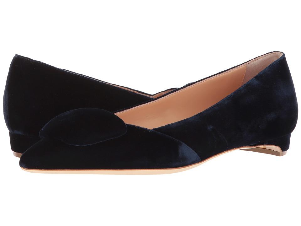 Rupert Sanderson Aga (Navy) Slip-On Shoes
