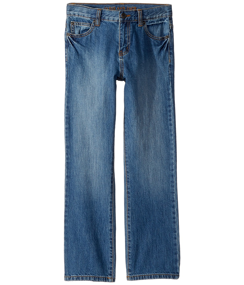 Janie and Jack - Five-Pocket Denim Jeans (Toddler/Little Kids/Big Kids) (Light Wash) Boys Jeans