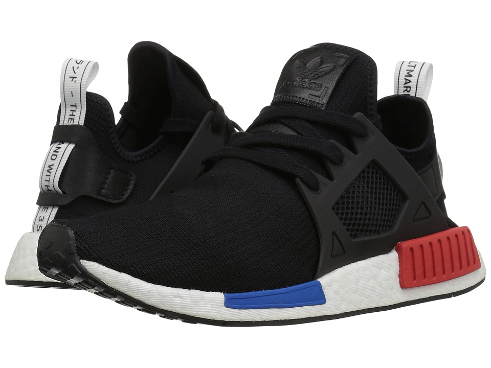 adidas Originals - NMD_XR1 PK (Black/Black/White/Red/Royal) Mens Shoes