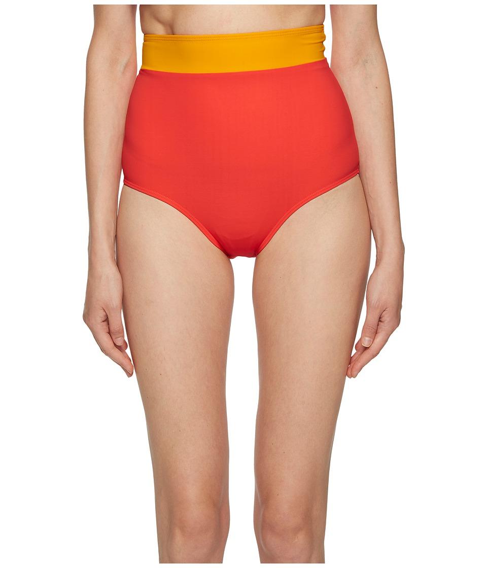FLAGPOLE - Arden Bottoms (Strawberry/Tangerine/Rose) Womens Swimwear