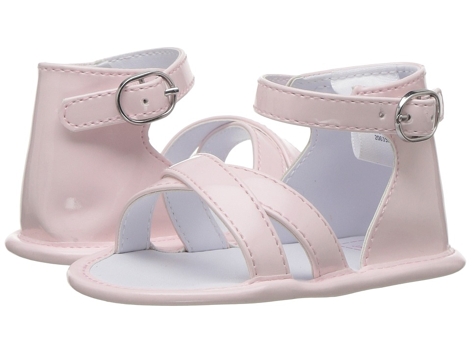 Janie and Jack - Simple Sandal (Infant) (Dollface Pink) Girls Shoes