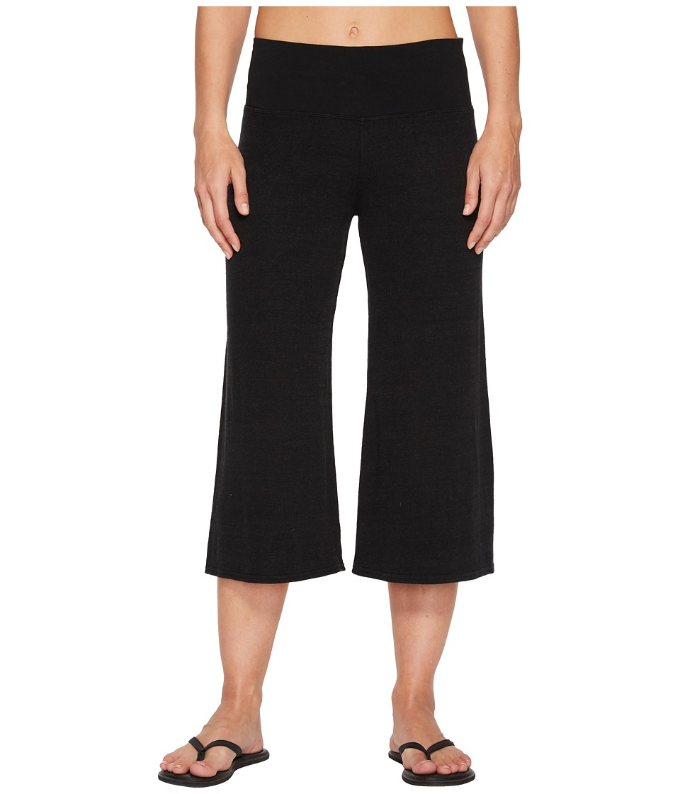 Hard Tail Flare Crop Pants (Black) Women