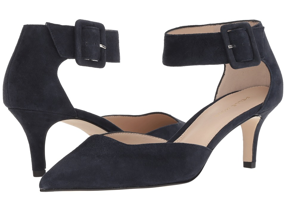 Pelle Moda Kenley (Midnight Suede) Women's Shoes