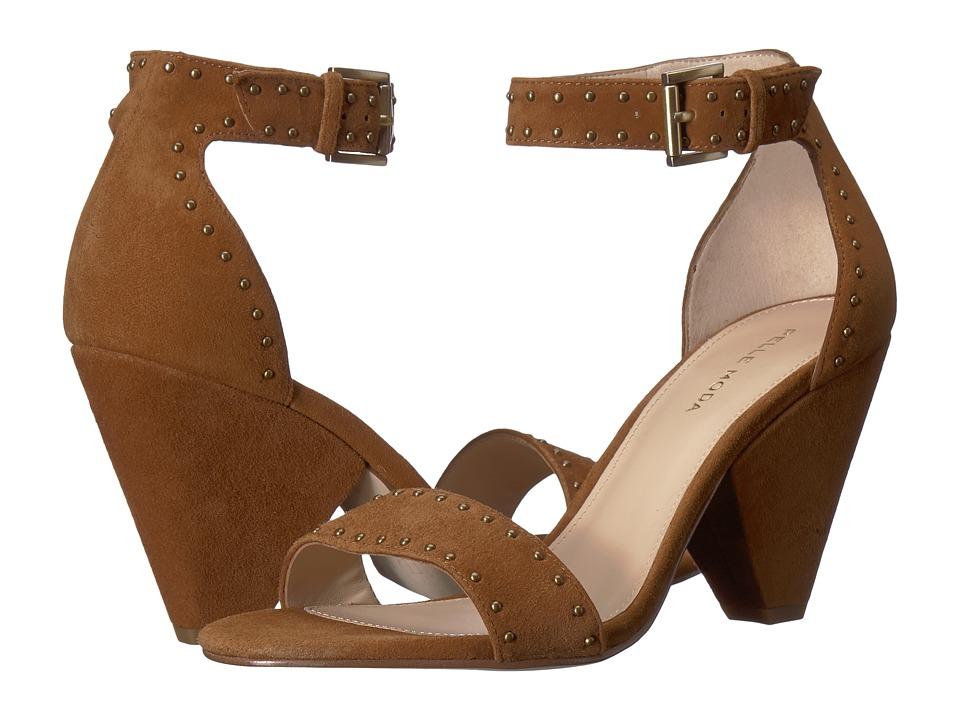 Pelle Moda Krista (Cognac Suede) Women's Shoes