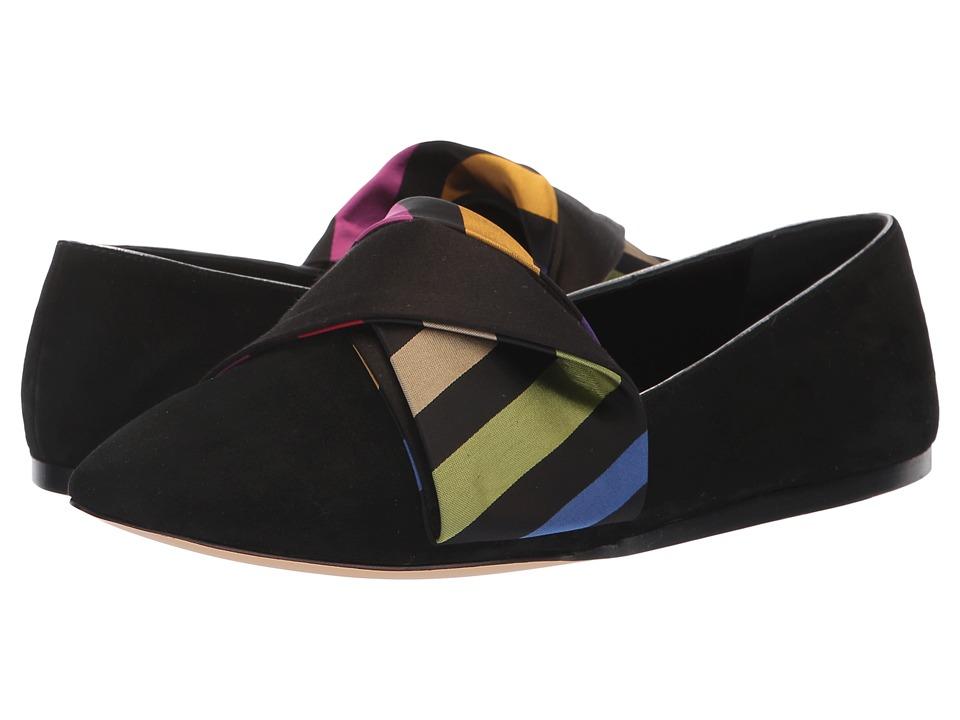 Etro Bow Flat (Black) Flats