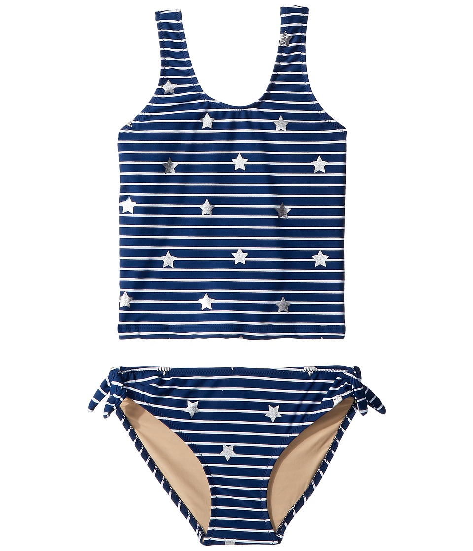 shade critters - Stars N Stripes Tankini Set (Toddler/Little Kids/Big Kids) (Blue) Girls Swimwear Sets
