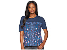 Lucky Brand Floral All Over Printed Tee