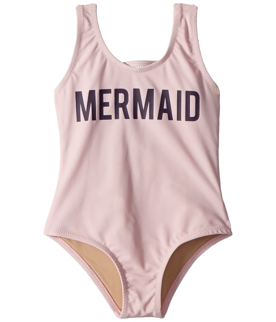 shade critters - Mermaid One-Piece Scoop (Infant/Toddler) (Pink) Girls Swimsuits One Piece