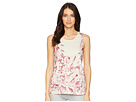 Lucky Brand Printed Floral Tank Top