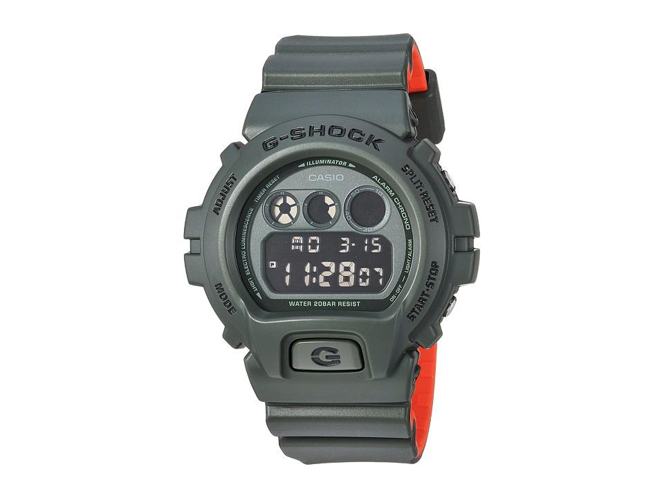 Casio DW6900LU-3 (Green/Orange) Watches
