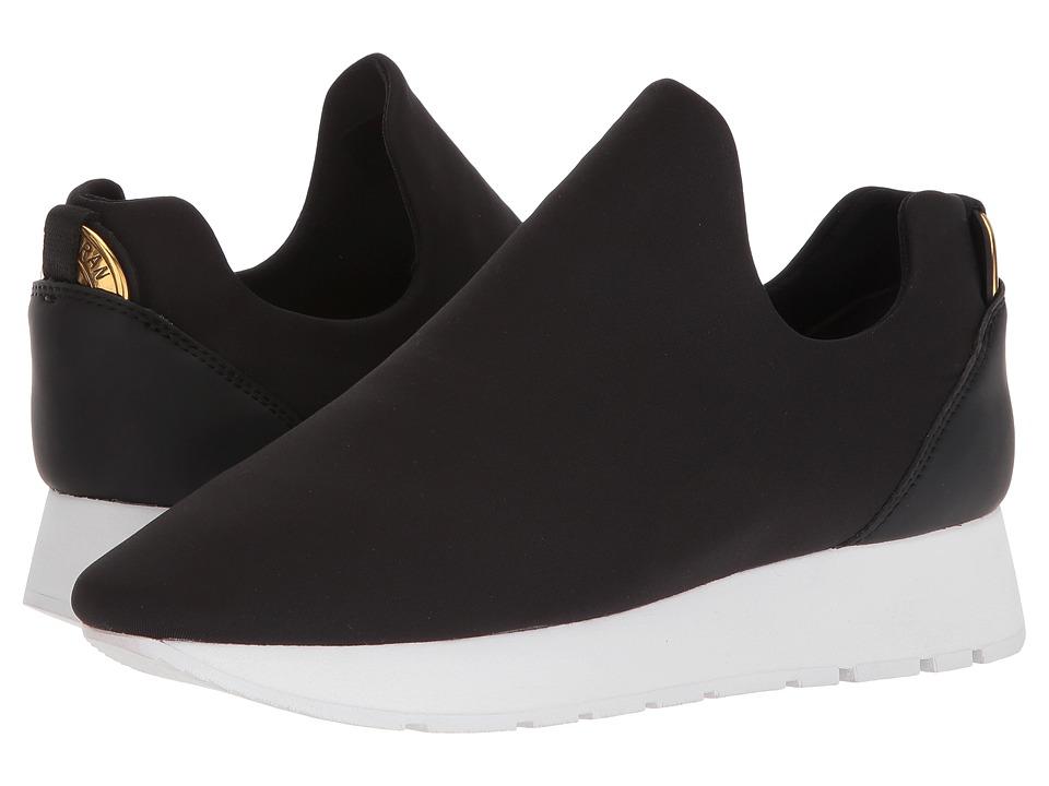 Donna Karan - Erin Slip-On Sneaker (Black) Womens Slip on  Shoes