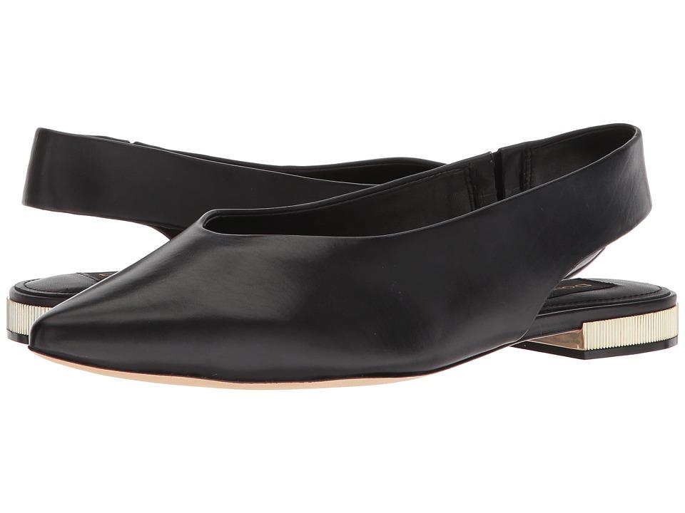 Donna Karan Paige Sling Back (Black) Women's Dress Sandals