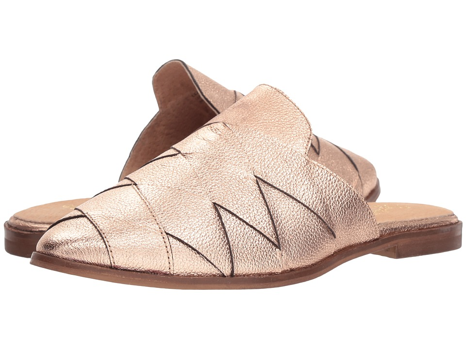 Seychelles Survival II Mule (Rose Gold Leather) Women's Shoes