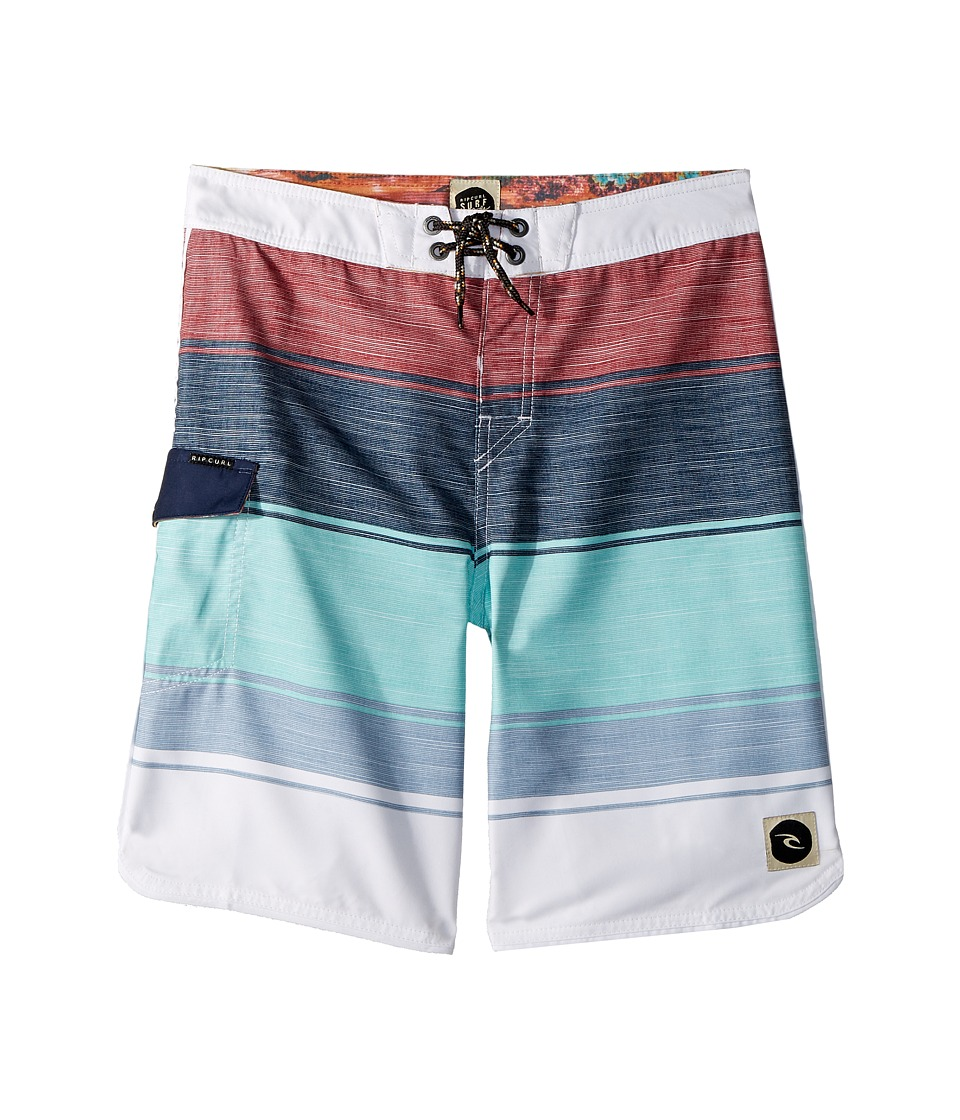 Rip Curl Kids - All Time Boardshorts (Big Kids) (Teal) Boys Swimwear