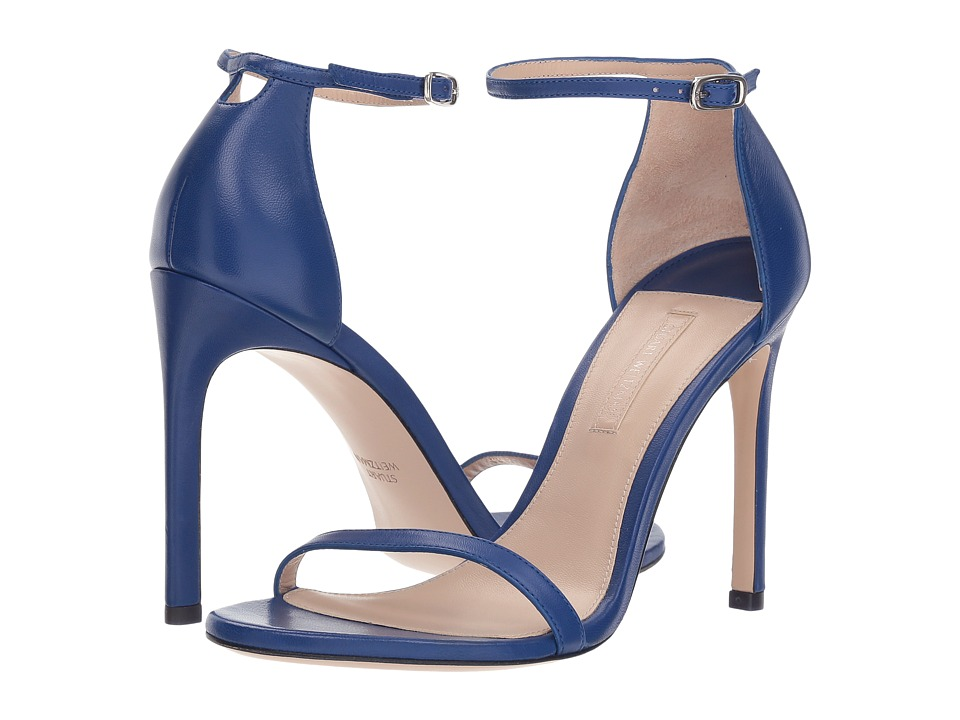 Stuart Weitzman Nudistsong (Blue Violet Reims) Women's Shoes