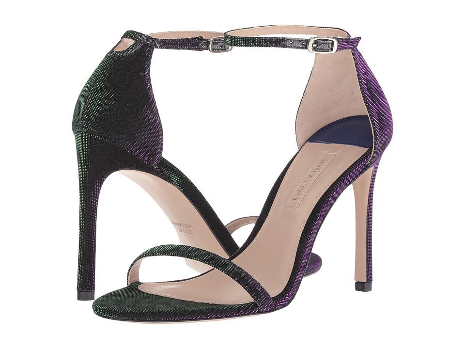 Stuart Weitzman Nudistsong (Majestic Purple Nighttime) Women's Shoes