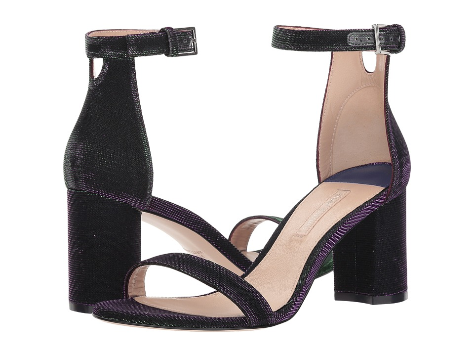 Stuart Weitzman 75lessnudist (Majestic Purple Nighttime) Women's Shoes