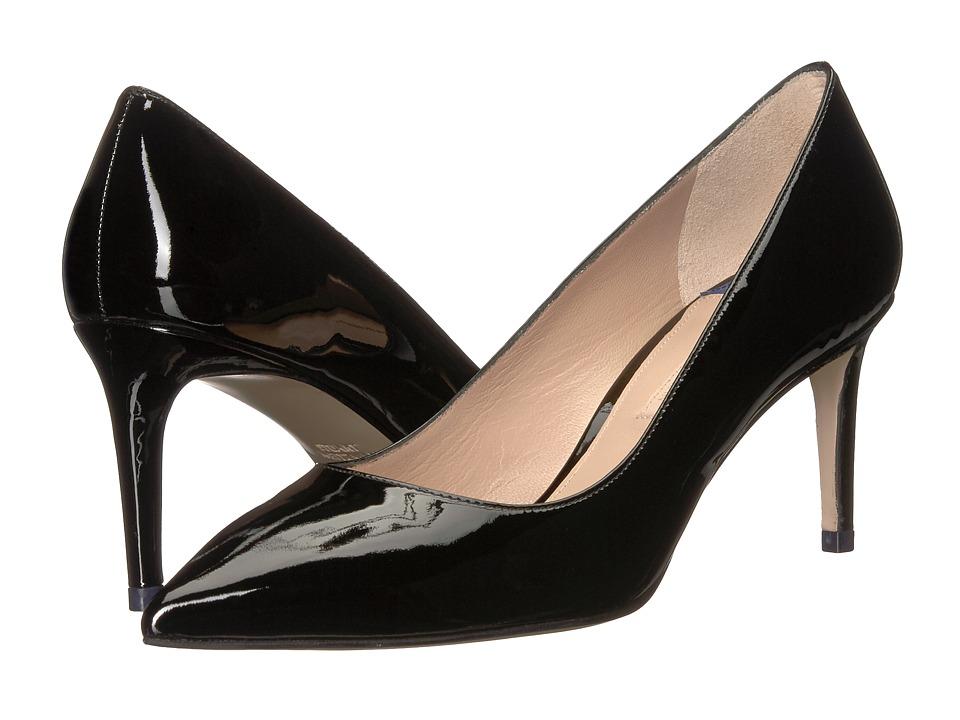 Stuart Weitzman Leigh 70 (Black Cristal) Women's Shoes