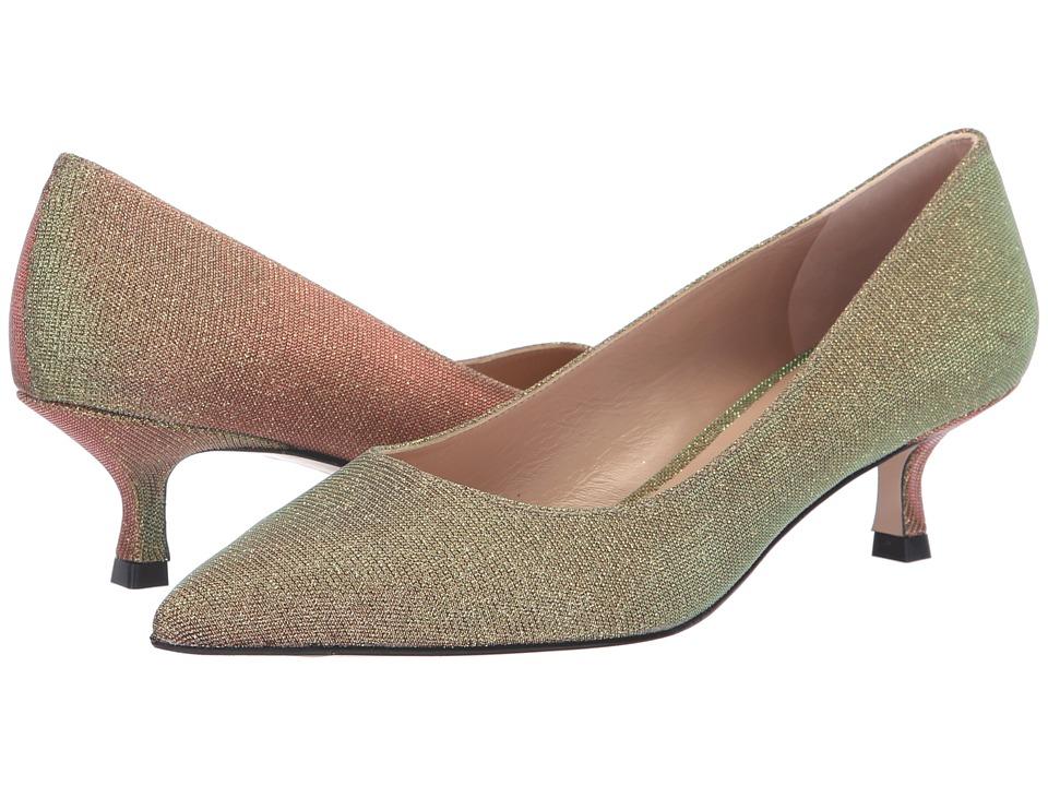 Stuart Weitzman Tippi 45 (Gold Multi Nighttime) Women's Shoes