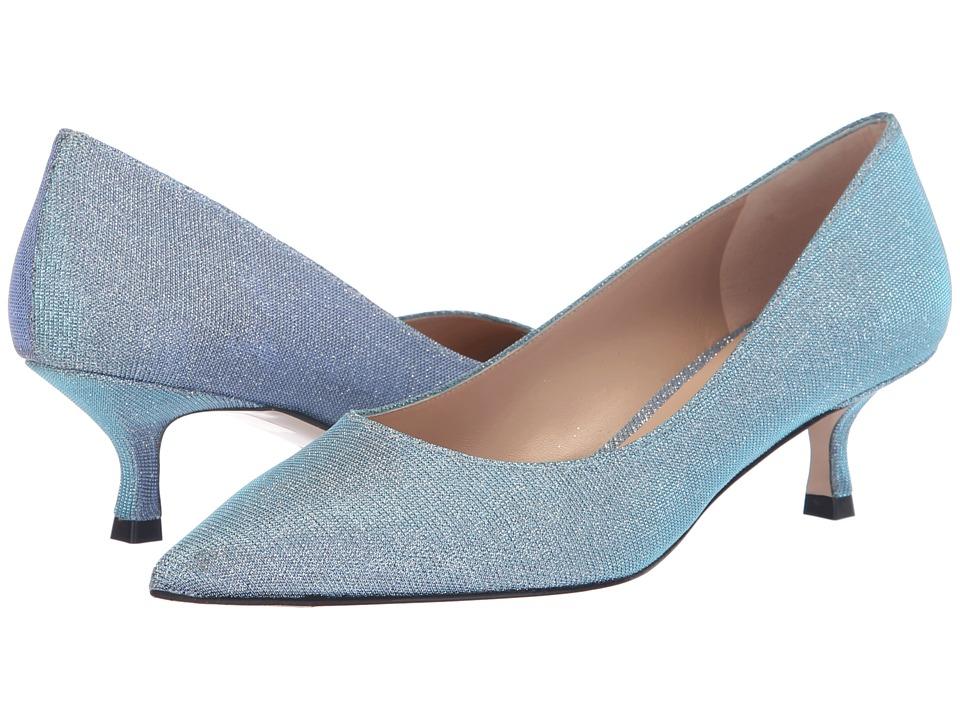 Stuart Weitzman Tippi 45 (Iceblue Nighttime) Women's Shoes