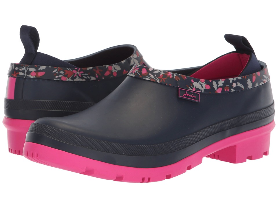 Joules Popons (French Navy Squirrel Ditsy) Slip-On Shoes