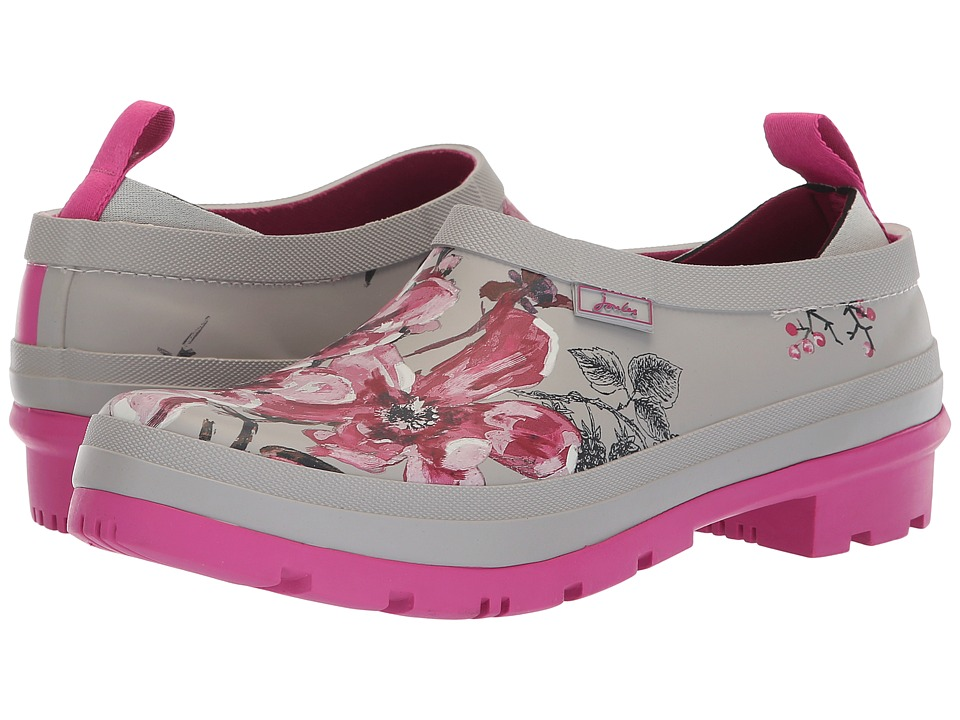 Joules Popons (Silver Harvest Floral) Slip-On Shoes