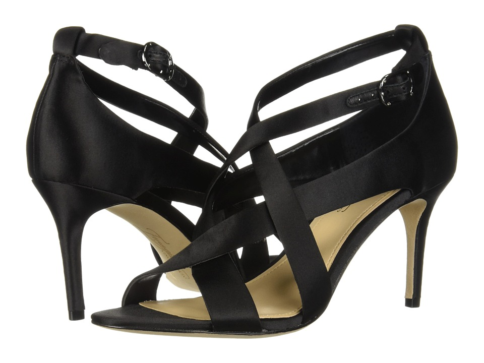 Imagine Vince Camuto Paill (Black Deluxe Satin) High Heels