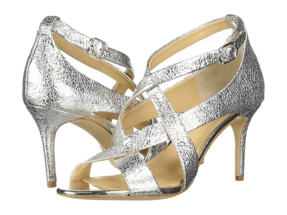 Imagine Vince Camuto Paill 2 (Platinum Cracked Metallic) High Heels