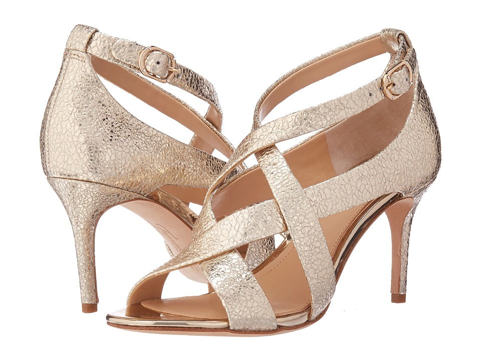 Imagine Vince Camuto Paill 2 (Soft Gold Cracked Metallic) High Heels